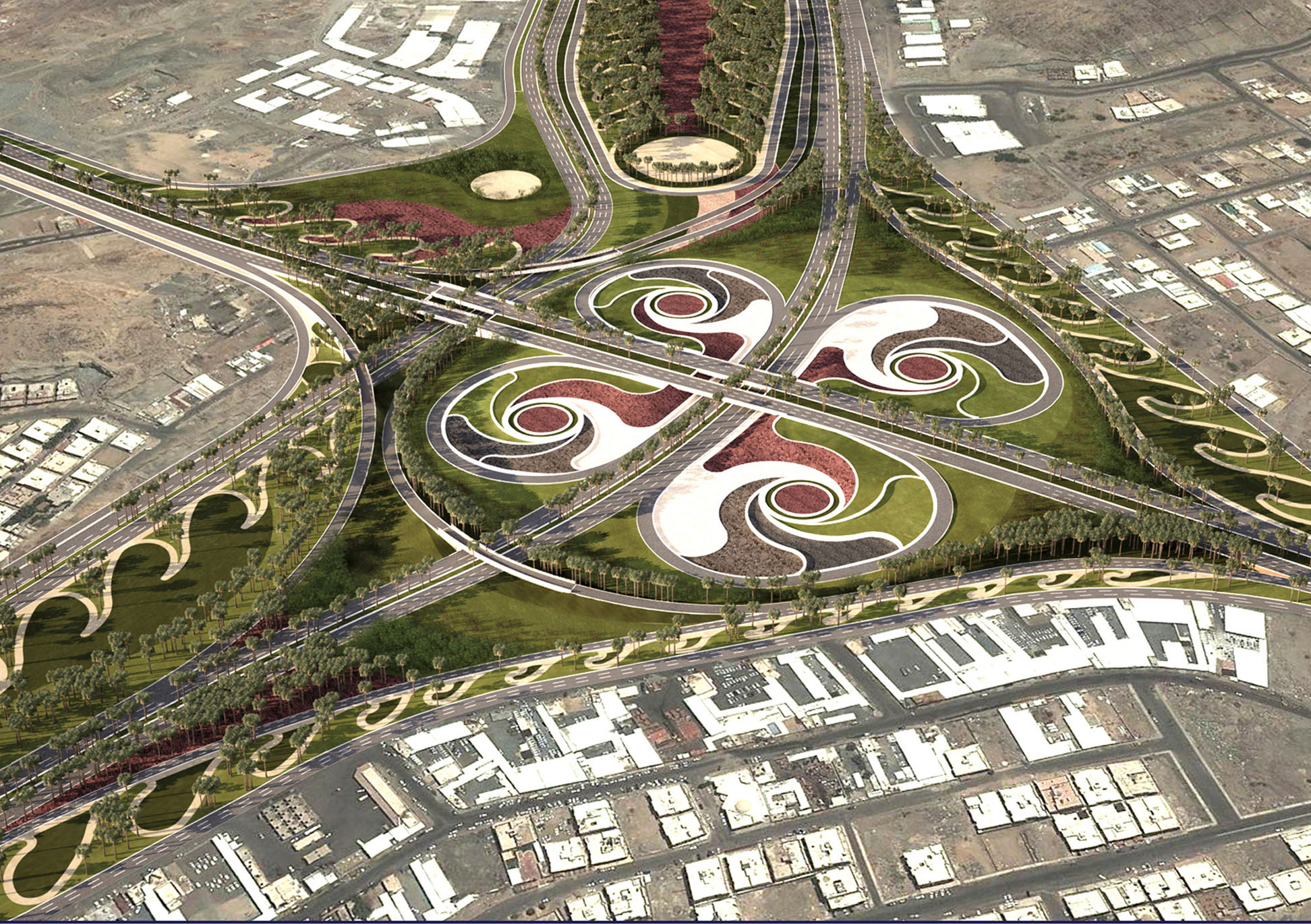 Street interchange project